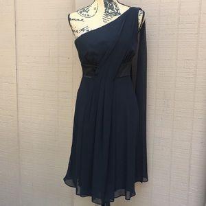 WHBM asymmetrical party dress